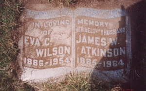 Sunday's Obituary - Great-Grandparents (ATKINSON)