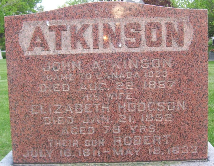 St. Philip's Cemetery, Weston, Ontario